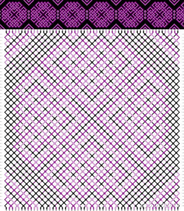 Схема фенечки 5361