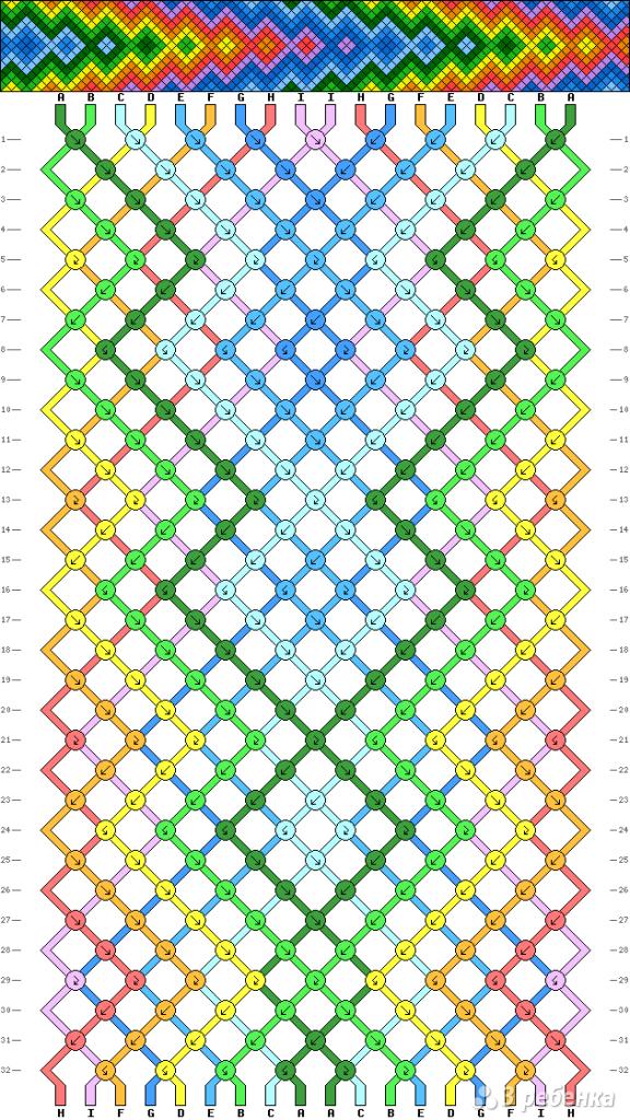 Схема фенечки 5283