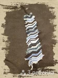 Схема фенечки прямым плетением 5681