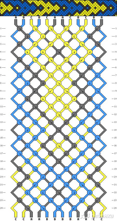 Схема фенечки 5226