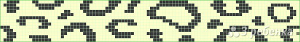 Схема фенечки прямым плетением 5776
