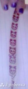 Схема фенечки 6742