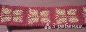 Схема фенечки 7836