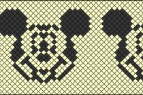 Схема фенечки 7815