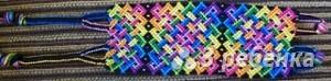 Схема фенечки 7580