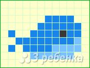 Схема фенечки прямым плетением 7189