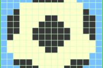 Схема фенечки 7296