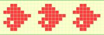 Схема фенечки 7332