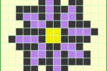 Схема фенечки 7467