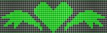Схема фенечки 7540