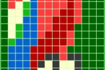 Схема фенечки 7494