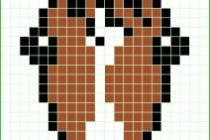 Схема фенечки 7173