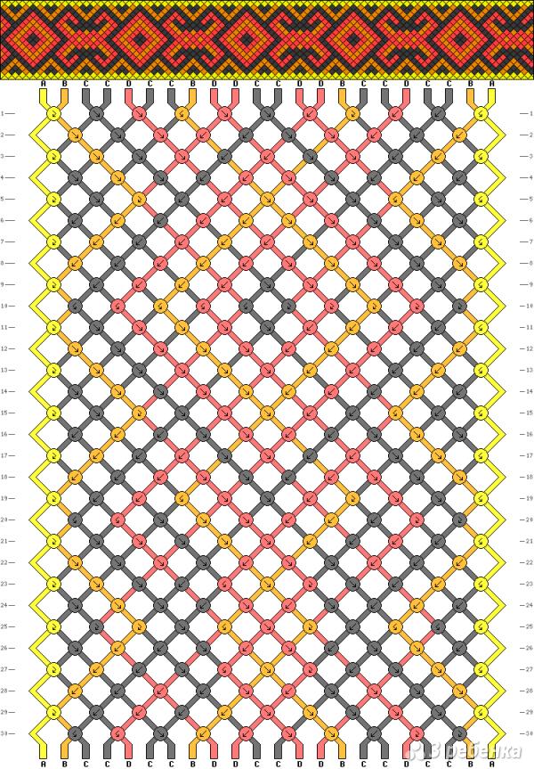 Схема фенечки 8360