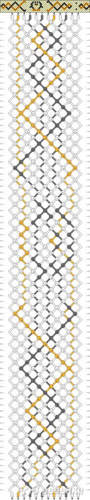 Схема фенечки 9141