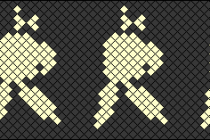 Схема фенечки 8528