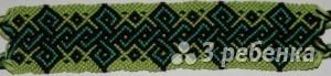 Схема фенечки 8059