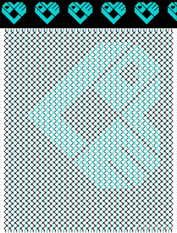 Схема фенечки 8681