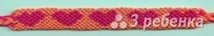 Схема фенечки 8456