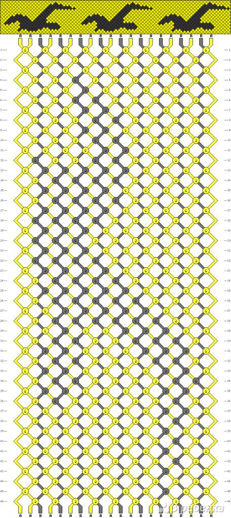 Схема фенечки 9280