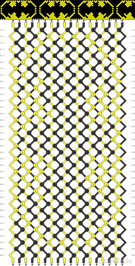 Схема фенечки 8201