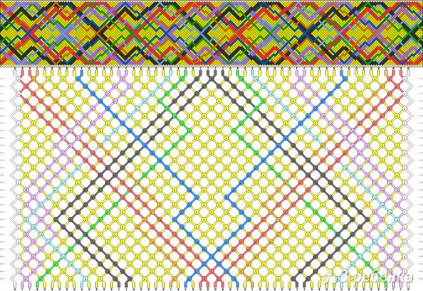 Схема фенечки 9059