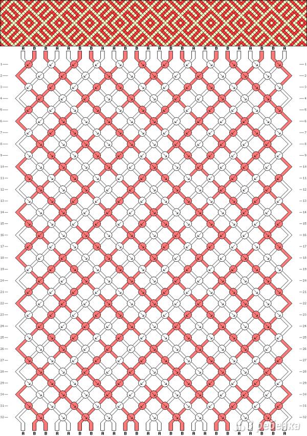 Схема фенечки 8840