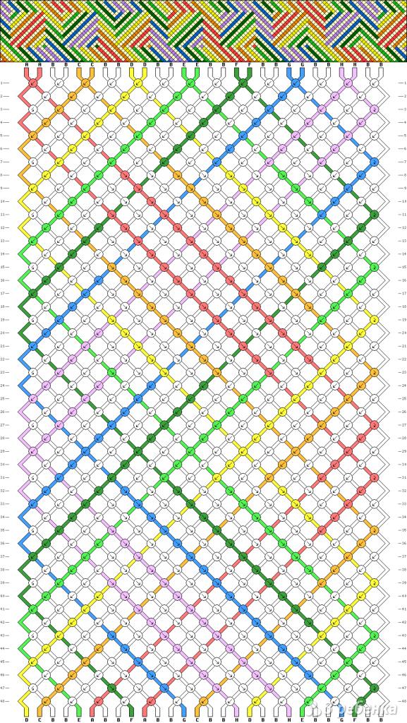 Схема фенечки 7980