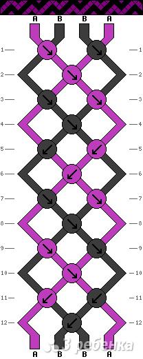 Схема фенечки 11143