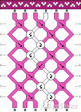 Схема фенечки 10848