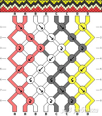 Схема фенечки 11081