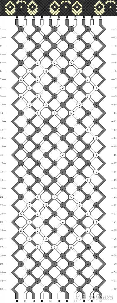 Схема фенечки 11133
