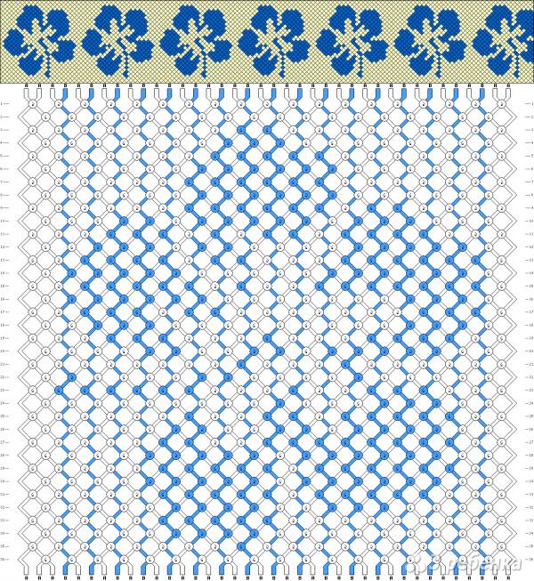 Схема фенечки 10812