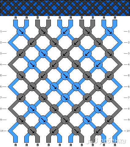 Схема фенечки 10950