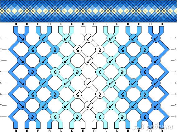 Схема фенечки 11122