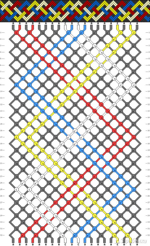 Схема фенечки 10981