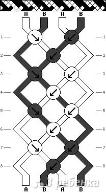 Схема фенечки 9587