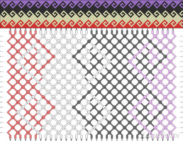 Схема фенечки 11113