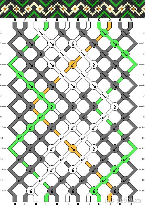 Схема фенечки 10460