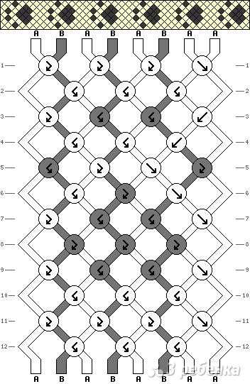 Схема фенечки 9573