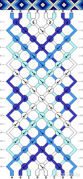 Схема фенечки 9774