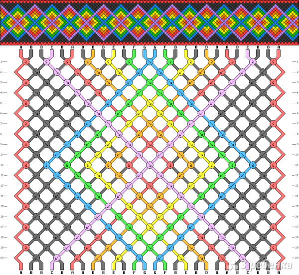 Схема фенечки 10838