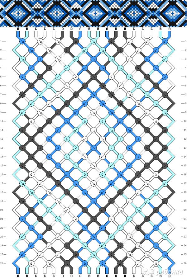 Схема фенечки 11169
