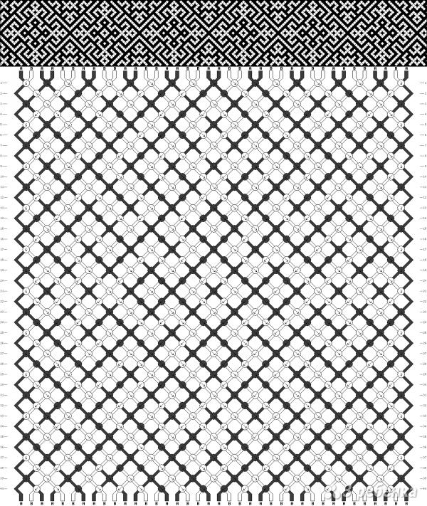 Схема фенечки 10866