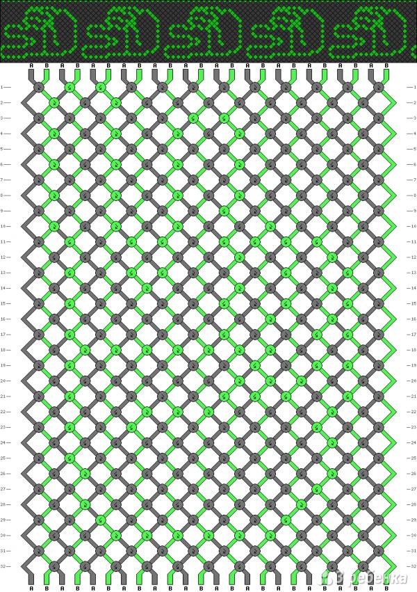 Схема фенечки 10056