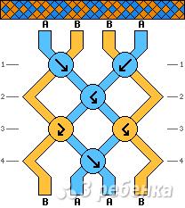 Схема фенечки 10033