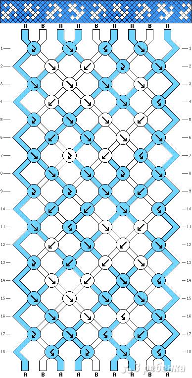 Схема фенечки 10858