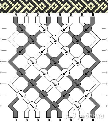 Схема фенечки 11228