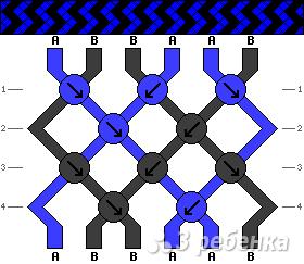Схема фенечки 10039