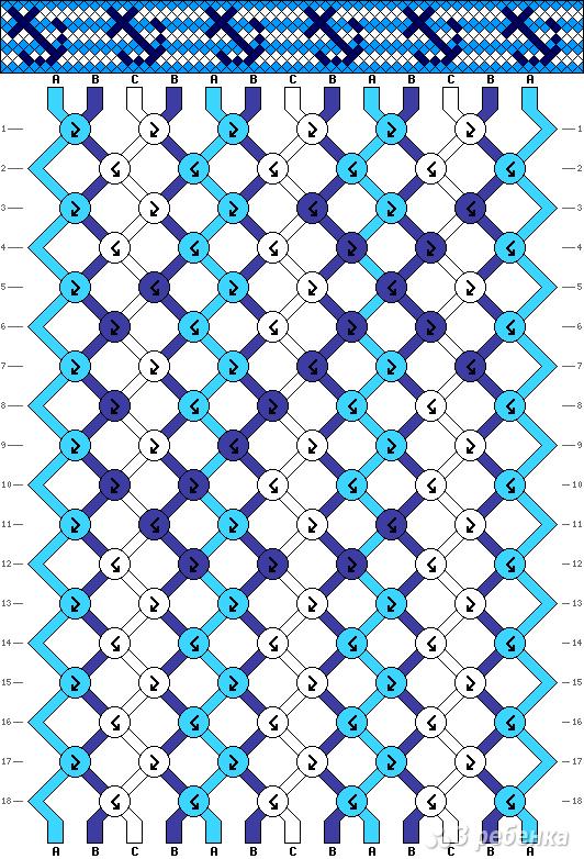 Схема фенечки 10923