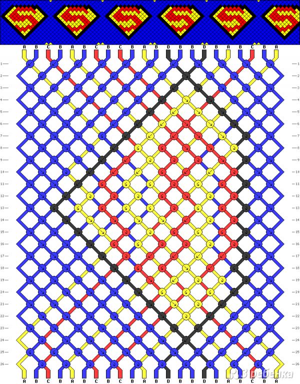 Схема фенечки 10497